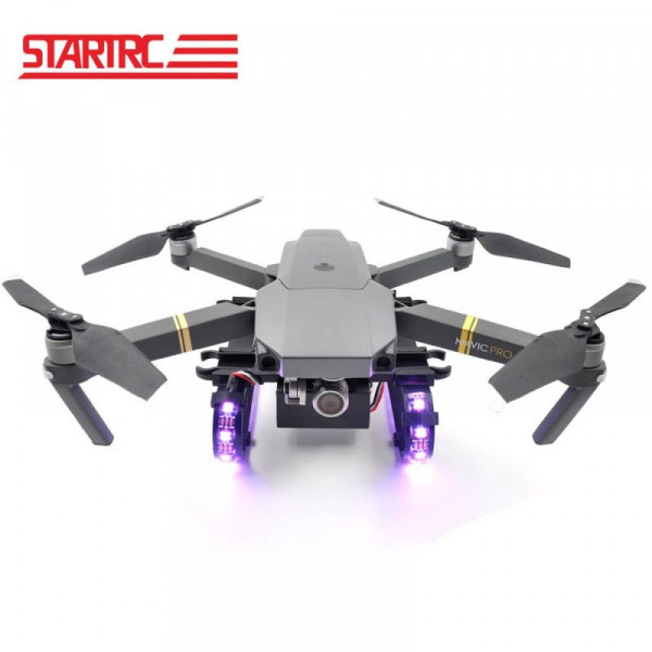 DJI Mavic 2 Pro/Zoom - Colorful LED extended landing gear