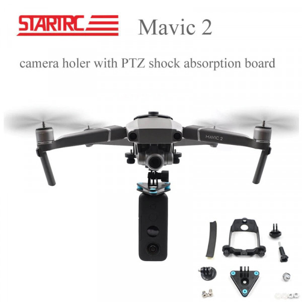 DJI Mavic 2 Pro/Zoom - STARTRC Camera Mount e Shock Absorption Gimbal Insta 360 EVO/ONE