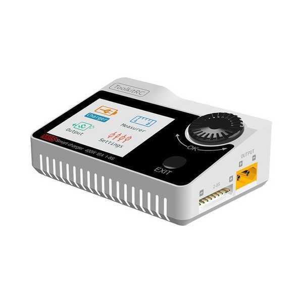 ToolKitRC - M8s - Carica Batterie - Colore Bianco