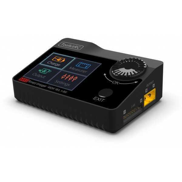 ToolKitRC - M8s - Carica Batterie - Colore Nero