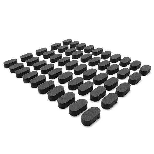 Realacc - Set 4 pezzi piedini in spugna per Droni FPV Racer - Colore Nero
