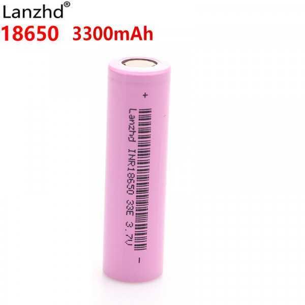 Batteria Lanzhd 18650 - 3300mAh - 3.7 Volt - Li-Ion