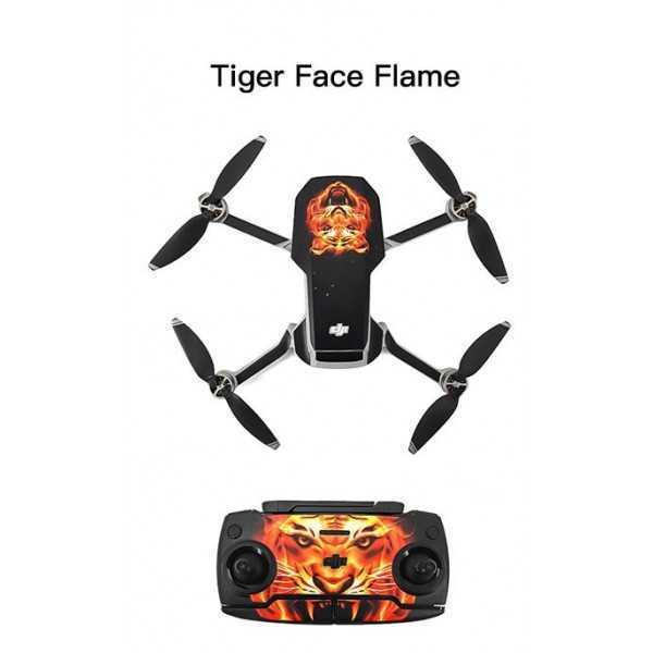 DJI Mavic Mini - Sticker Tiger per Drone e Radiocomando STARTRC