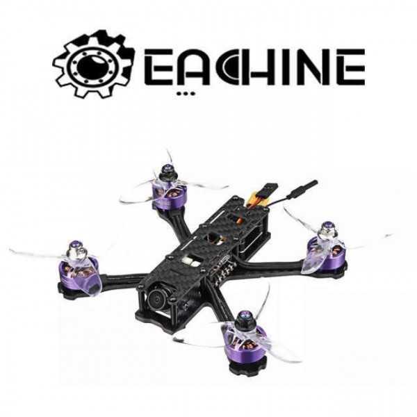 Eachine Wizard X140HV FPV Racing Drone 140mm 3 Pollici 3-6S F4 OSD PNP Betaflight Cam FOXEER VTX 25~300mW