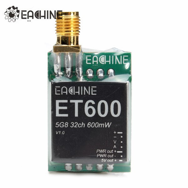Eachine ET600 5.8G 32CH 600mW Super Light Transmitter