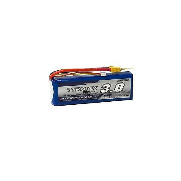 TURNIGY - Batteria LiPo 3000mAh 3S 40C - XT60
