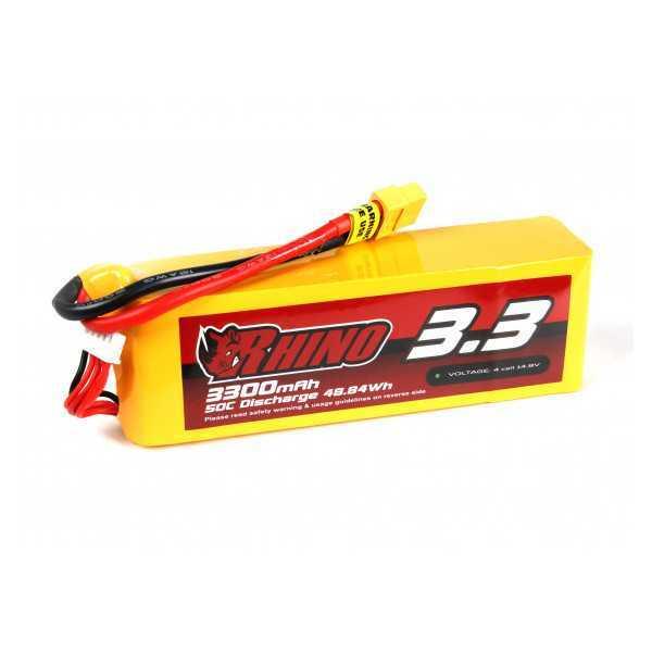 RHINO - Batteria LiPo 3300mAh 4S 50C - XT60