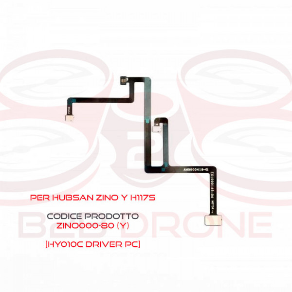 Hubsan ZINO (Y) H117S - Flat Cable per Gimbal - HY010C Driver FPC
