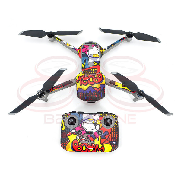 DJI Mavic Air 2 - Sticker Cartoon graffiti per Drone e Radiocomando STARTRC