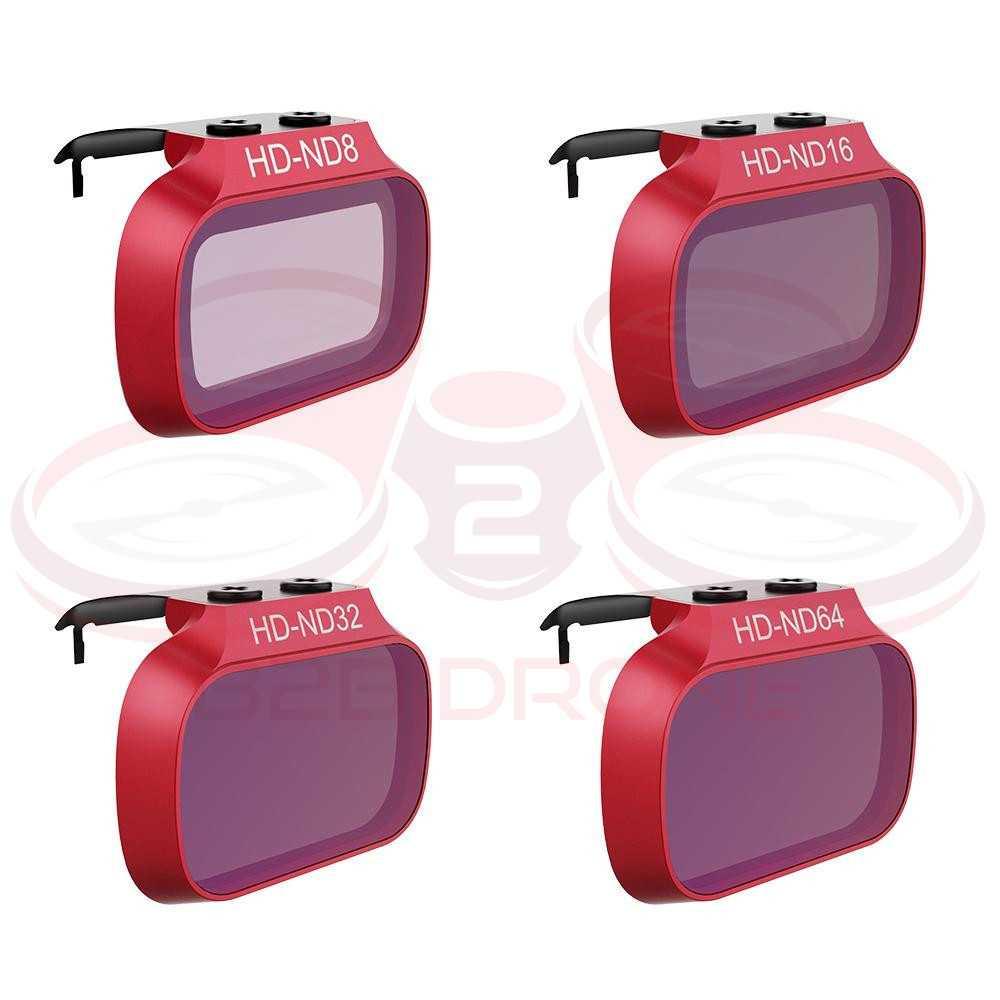 DJI Mavic Mini - Set Filtri ND8 ND16 ND16 ND32 ND64 (Professional) - PGYTECH