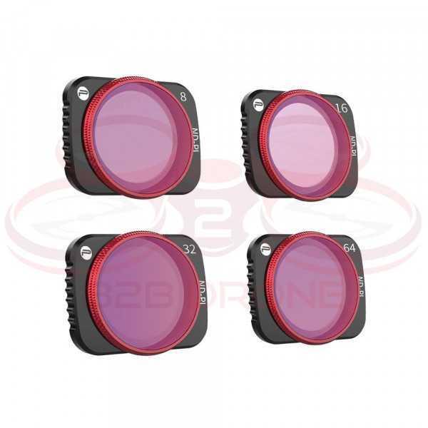 DJI Mavic Air 2 - Set Filtri ND8/PL ND16/PL ND32/PL ND64/PL (Professional) - PGYTECH