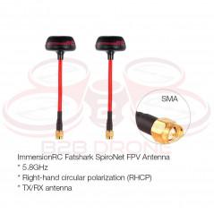 Antenna Fatshark ImmersionRC SpiroNet 5.8GHz - Colore Nera