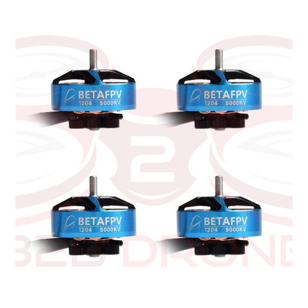 BetaFPV - Set Motori Brushless 1204 5000KV
