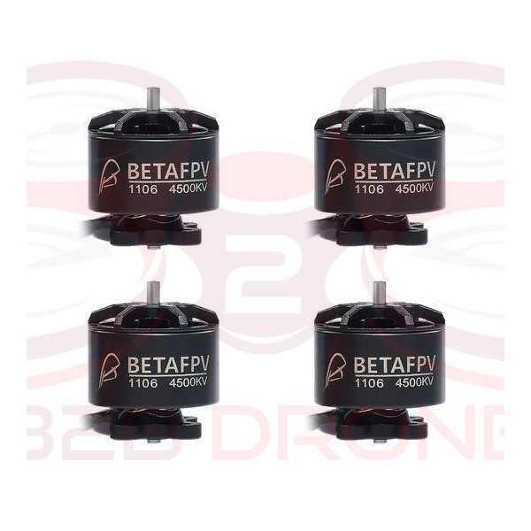 BetaFPV - Set Motori Brushless 1106 4500KV