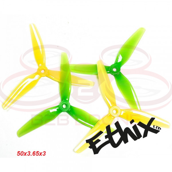 ETHIX S4 PROP Lemon Lime - 5036 Tre Pale (5x3.65x3) (2 CW + 2 CCW) - HQProp