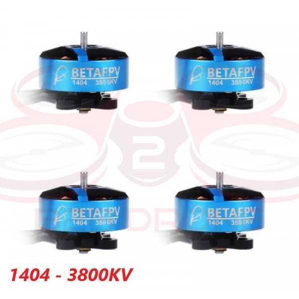 BetaFPV - Set 4 Motori Brushless 1404 - 3800KV