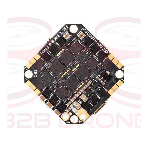 BetaFPV - Flight Controller Toothpick F4 2-6S AIO 35A (BLHeli_32)