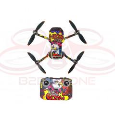 DJI Mini 2 - Sticker Animated Graffiti per Drone e Radiocomando STARTRC