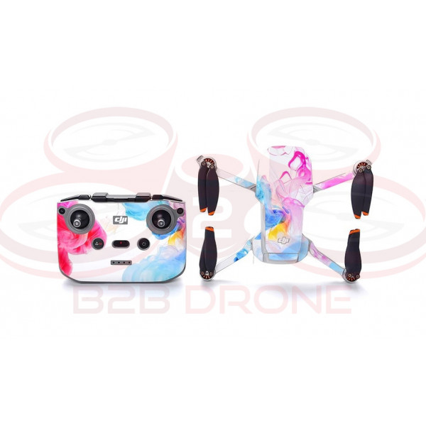 DJI Mini 2 - Sticker Ink Cloud per Drone e Radiocomando STARTRC