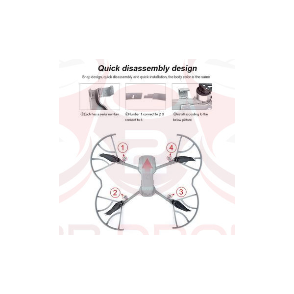 DJI Mavic Air 2 - Propeller Guard - STARTRC
