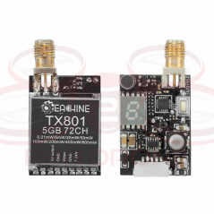Eachine - VTX FPV TX801 5.8G 72CH da 0.01mW a 600mW commutabili