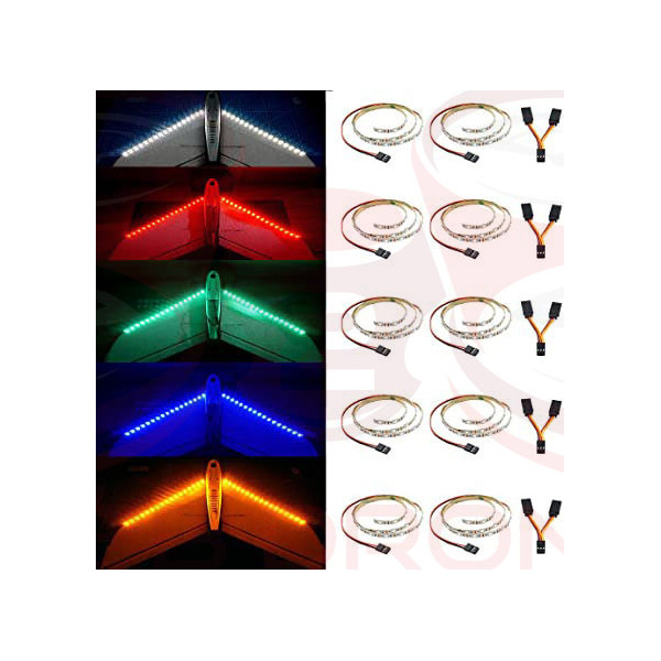 Kit di Strisce LED per aerei Radiocomandati - Vari Colori