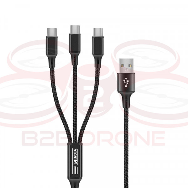 DJI FPV - Charging cable 3in1 - STARTRC