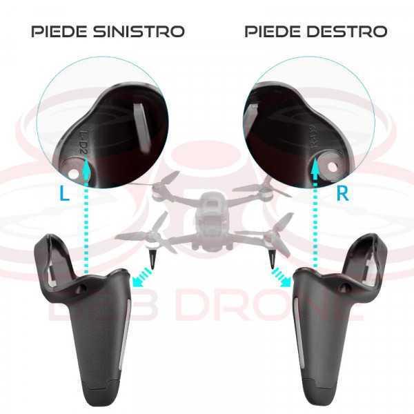 DJI FPV - Left Landing Gear - Piedino carrello atterraggio Sinistro