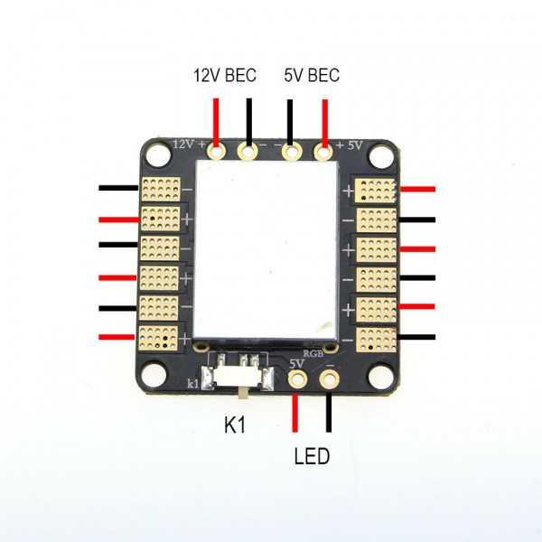 EMAX Power Distribution Board 0512 5V/12V - V.2.0