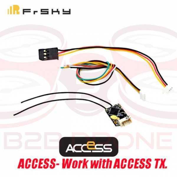 FrSky - R-XSR Access V2 Ultra Mini Ricevente 2.4 GHz - S.BUS / CPPM D16 16CH Smart Port