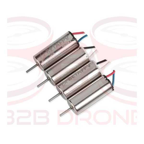 BetaFPV - Kit Motori 7x16mm Brushed (2CW+2CCW)