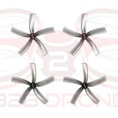 BetaFPV - Set Eliche HQ 75 5-Pale albero 1.5mm Shaft - Colore Grigio