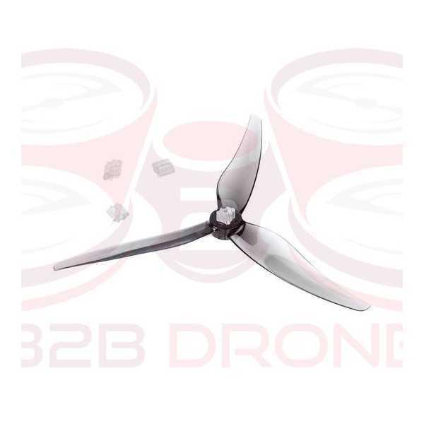 BetaFPV - Set Eliche GEMFAN 5125 3-Pale albero 5mm/1.5mm Shaft - Colore Grigio