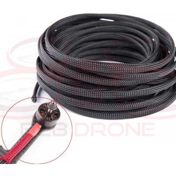 Corda 8mm di Diametro 1 Metro di Lunghezza per protezione cavi ESC - Colore Nero