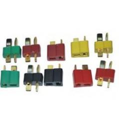 Emax - Connettore T Plug - Deans Ignifugo - Maschio/Femmina