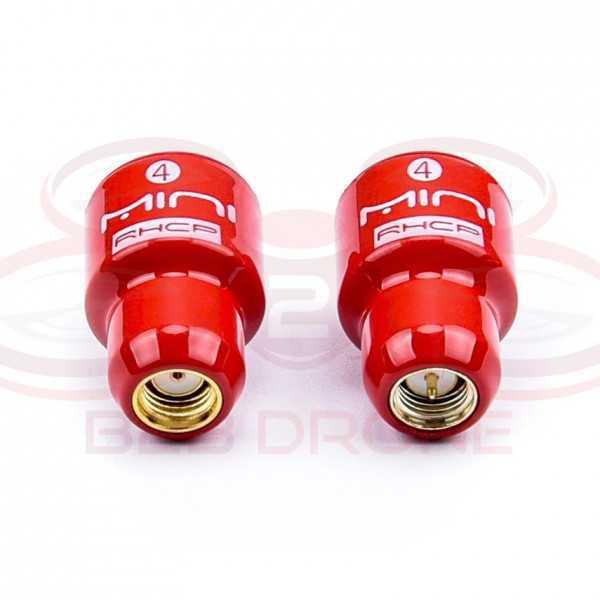 Antenna FPV Lollipop 4 - 5.8G - 2.8DBi RHCP SMA/RP-SMA - Colore Rosso