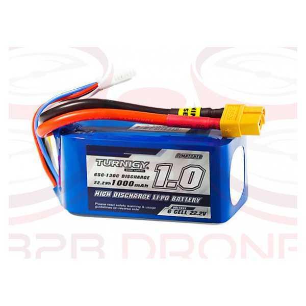 Turnigy 1000mAh 6S 65C XT60 Battery Pack