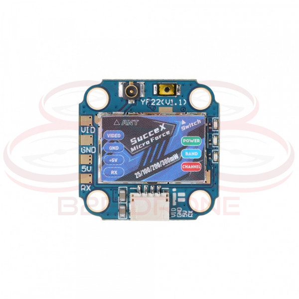 iFlight - SucceX Micro Force VTX 5.8 GHz 300mW Regolabile