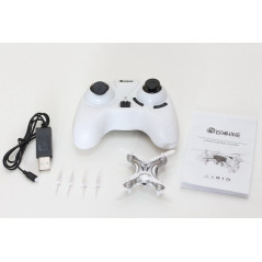 Eachine E10C Mini Drone Quadricottero con CAM 2 MP