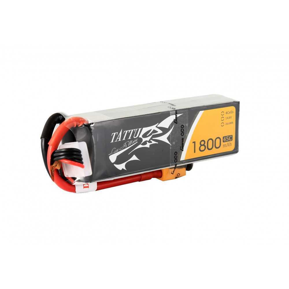 TATTU 1800mAh 11.1V 75C 3S1P Lipo Battery Pack